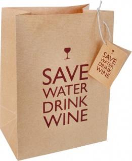 Save Water - Dekotüte aus Packpapier