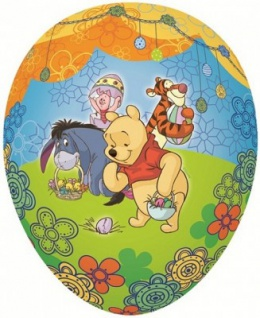 Füll- Osterei Winnie Pooh 15 cm