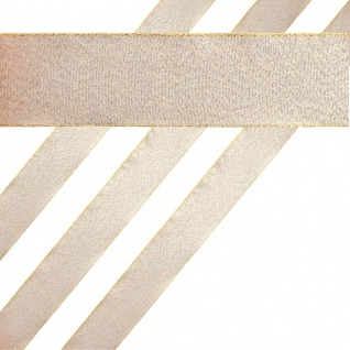 Glitzerndes Geschenkband in Kupfer 4 cm breit 2 Meter lang