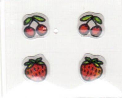 Früchte Mini Soft Sticker