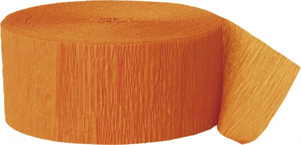 Krepp Band Orange