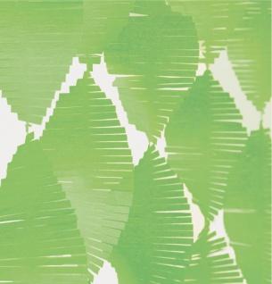 Fransen Girlande aus Seidenpapier in Hellgrün