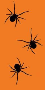 10 Taschentücher Grusel Spinnen