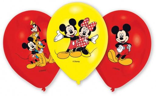 6 Luftballons Micky Maus