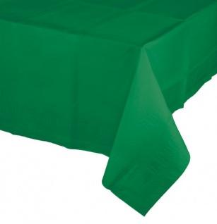 Papier Tischdecke Smaragd Grün - Vorschau