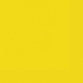 50 Teile Party Deko Set Neon Gelb für 14 Personen - Vorschau 4