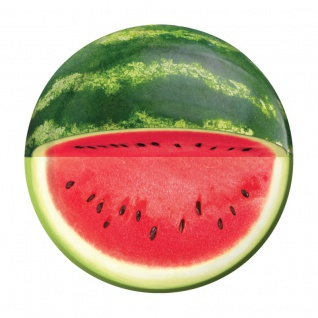 8 kleine Teller mit Wassermelone Motiv