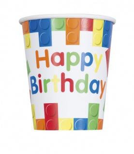 48 Teile Bausteine Geburtstags Party Set für 16 Kinder - Vorschau 3
