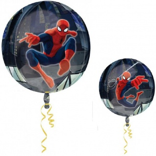 Folien Ballon Kugel Spiderman Orbz