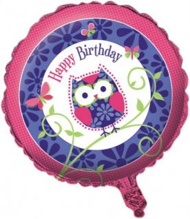Folien Ballon kleine Eule
