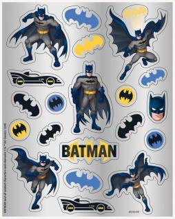 4 Batman Sticker Bögen