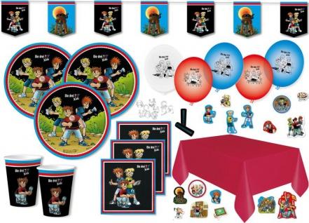 XL 50 Teile die drei Fragezeichen ??? Kids Party Deko Set für 8 Kinder