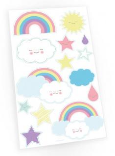 1 Bogen Regenbogen Kinder Tattoos