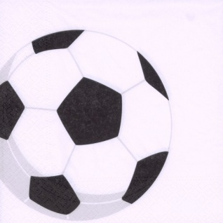 20 Fußball Servietten Soccer