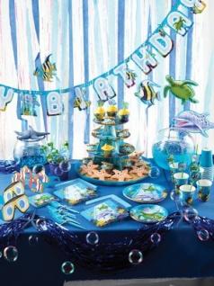 8 kleine Ozean Party Teller - Vorschau 2