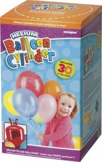 Ballongas Helium für 30 kleine Ballons