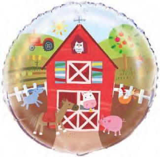 Bauernhof kleine Farm Folienballon