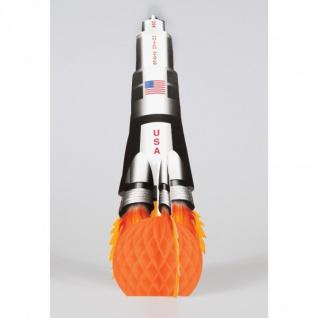 Tischaufsteller Rakete Weltraum Mission