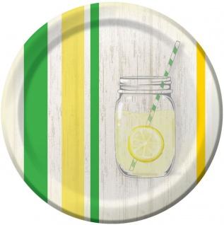 8 Teller Limonaden Party
