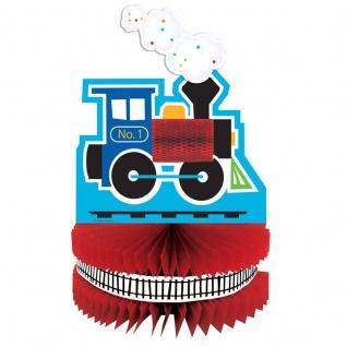Eisenbahn Party Tischaufsteller