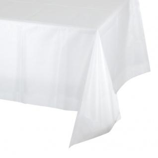Plastik Tischdecke klar und durchsichtig