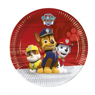 8 kleine Teller Paw Patrol Ready for Action 1