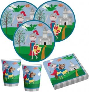 36 Teile kleiner Ritter Party Deko Set 8 Kinder