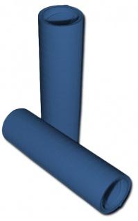 Papier Luftschlangen Blau - 1 Rolle a 20 Wurf flammensicher