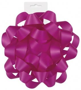Geschenkband Schleife in Pink 15 cm Durchmesser