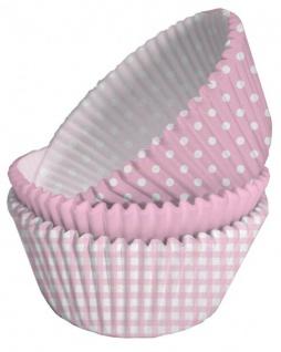 Erster Geburtstag Muffin Dekorations Backset Rosa für bis zu 75 Cupcakes - Vorschau 2