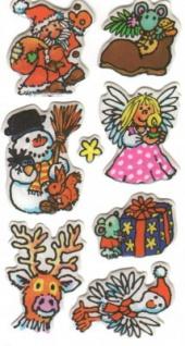 Weihnachten Soft Sticker