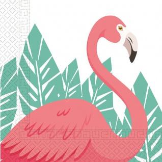 20 Servietten Flamingo Party - Vorschau 1