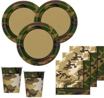 16 Servietten Camouflage - Vorschau 3