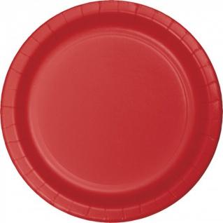 24 Papp Teller Rot