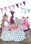 Glückwunschkarte zum Geburtstag