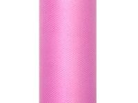 Tüll Tischläufer Rosa 0, 15 x 9m