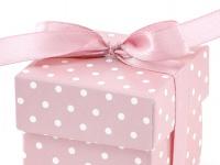10 Karton Boxen rosa für die Tischdeko, Gastgeschenke
