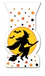 12 Halloween Zipper Tüten Hexe
