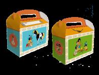 6 Geschenk Boxen kleiner Indianer Yakari