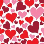 16 kleine Herz Servietten