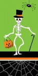 10 Taschentücher Skelett