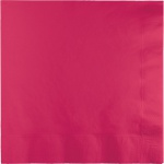 50 kleine Servietten Pink Magenta