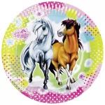 8 Pferde Party Teller Charming Horses