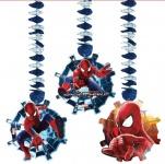 3 hängende Girlanden The Amazing Spiderman 2