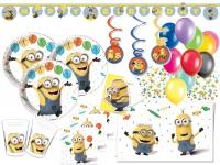 XXL 61 Teile Minions Party Deko Set für 6-8 Kinder