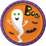 8 Halloween Teller Frankensteins Freunde