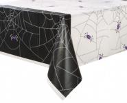 Halloween Tischdecke Spinnen Netz