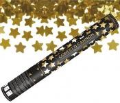 Konfetti Kanone Goldene Sterne 40 cm