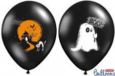 6 Halloween Luftballons Geist und Geisterhaus