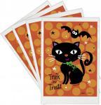 50 Halloween Mini Tütchen Schwarze Katze